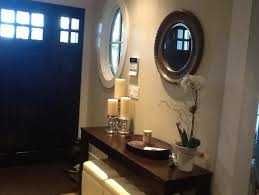 entrance table and mirror front entrance table mirror or artwork