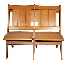 vintage wooden slat folding chairs olde good things