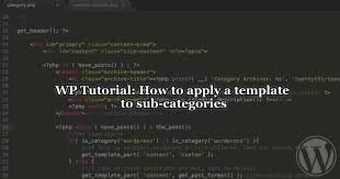 how to apply a template to sub categories u2022 rachievee rachel u0027s blog