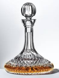 waterford crystal l base lismore ships decanter