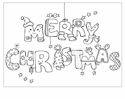 64 christmas coloring pages images