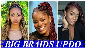 the best of 20 big braids black hairstyles and haircuts youtube