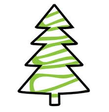 christmas tree drawing royalty free stock image storyblocks