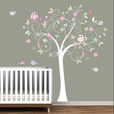 Kids Room Decals by Decals Nursery Jungle Baby Oak Tree Wall Decal Wall Decals Nursery