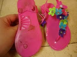 unknown brand size toddler girls m 7 8 pink flower sandals