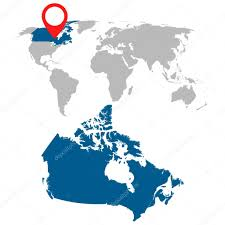 kanada fläche karte kanada und welt kartennavigation festgelegt flache