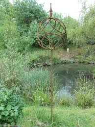 metal garden sculpture antique style metal obelisk decorative