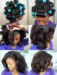 black rod hairstyles for 2015 reviving flat hair with perm rods perms perm and natural