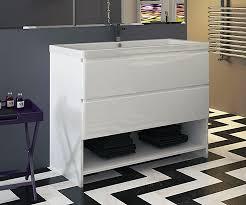 Free Standing Vanity Units Bathroom Burges White 1050 Freestanding Vanity Unit With Sink Bathrooms Com