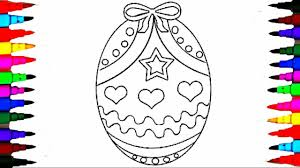 coloring pages easter egg surprise coloring book videos