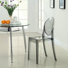 victoria ghost style side chair u2013 poly bark