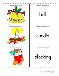 christmas flash cards have fun teaching