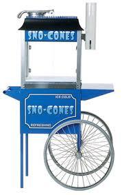 sno cone machine rental sno cone machine w cart scoop rentals lafayette la where to rent