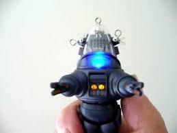 hallmark robby robot from the forbidden planet christmas keepsake