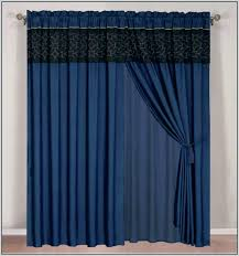 alluring slate blue sheer curtains decor with sheer black curtains