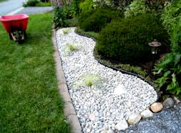 Backyard Gravel Ideas - small garden design ideas landscaping with gravel and other soft