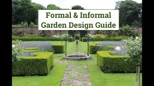 Botanical Garden Design by Formal U0026 Informal Garden Design Guide Youtube