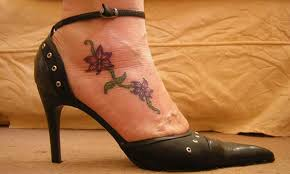 small flowers tattoo on foot tattoos book 65 000 tattoos designs