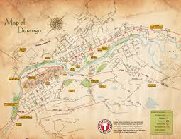 City Of Phoenix Map by Event Promotionofficial Tourism Site Of Durango Colorado