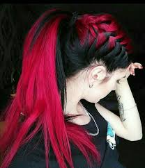 men with red fingernails and curlers in hair pinterest oddlyunique4 hair pinterest hair coloring