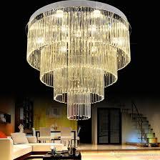Cream Chandelier Lights Led Modern Chandelier Lights Fixture K9 Crystal Chandeliers Multi