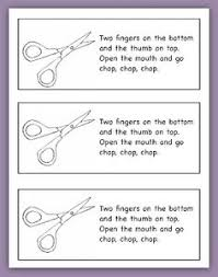 scissor skills development chart google search practical life