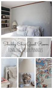 Shabby Chic Guest Bedroom - guest room reveal finding silver pennies