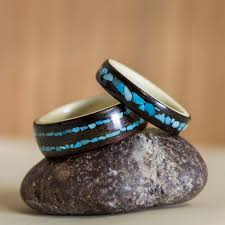 non metal wedding bands 847 best rings non metal images on wooden rings