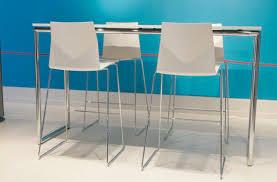 Standing Bar Table Contemporary High Bar Table Wooden Laminate Rectangular