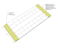 furniture is making a breadboard table top using just pocket