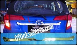 Daihatsu Sigra Trunk Lid Cover Chrome aksesoris mobil daihatsu 盪 aksesoris mobil sigra 盪 sgr 59 trunklid