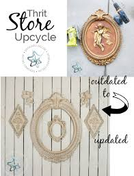 Home Decor Thrift Store Thrift Store Decor Upcycle Designed Decor
