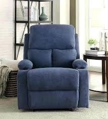 navy blue reclining sofa navy leather recliner chair blue reclining sofa wing gradfly co