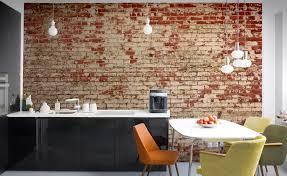 papier peint pour cuisine moderne papier peint pour cuisine moderne une seule cuisine pour trois avec
