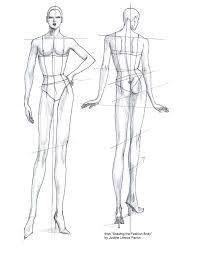 female fashion design body template latest fashion style
