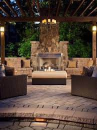 Outdoor Patio Fireplace Designs Outdoor Patio Fireplace Bench Seating Next To Fireplace Home