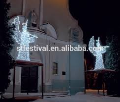 christmas angel outdoor decorations part 36 tear drop angel led