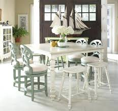Beachy Dining Room Sets - 35 gorgeous baroque extendable dining table in kitchen traditional
