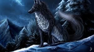 winter anime wallpaper hd anime wolf wallpaper