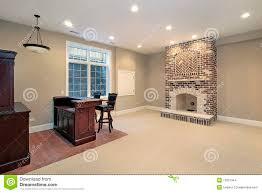basement fireplace binhminh decoration