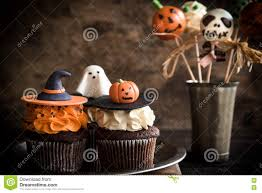 funny halloween desserts stock photo image 77219626