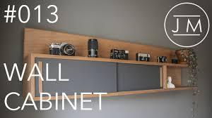 jm 013 mid century modern wall cabinet youtube