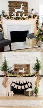 fireplace decorating ideas for your home 100 favorite christmas decorating ideas for every room in your