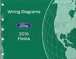 2016 ford fiesta wiring diagram manual original