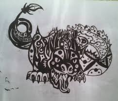 tribal chinese dragon tattoos tribal chinese dragon tattoo template by 27157 on deviantart