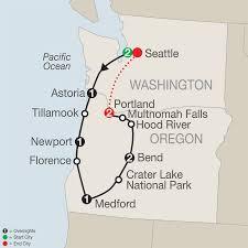 Portland Australia Map by California Tours Globus Escorted Tours