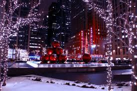 christmas in new york christmas tree in new york lighting