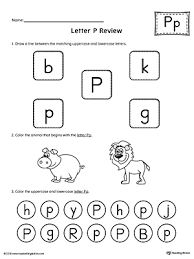 all worksheets preschool letter p worksheets free printable