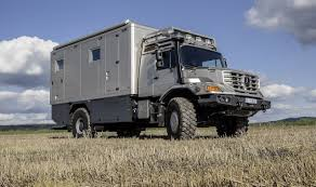 land rover italeri mercedes zetros camper luxurious