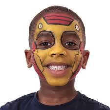 paint man iron man face paint disney snazaroo